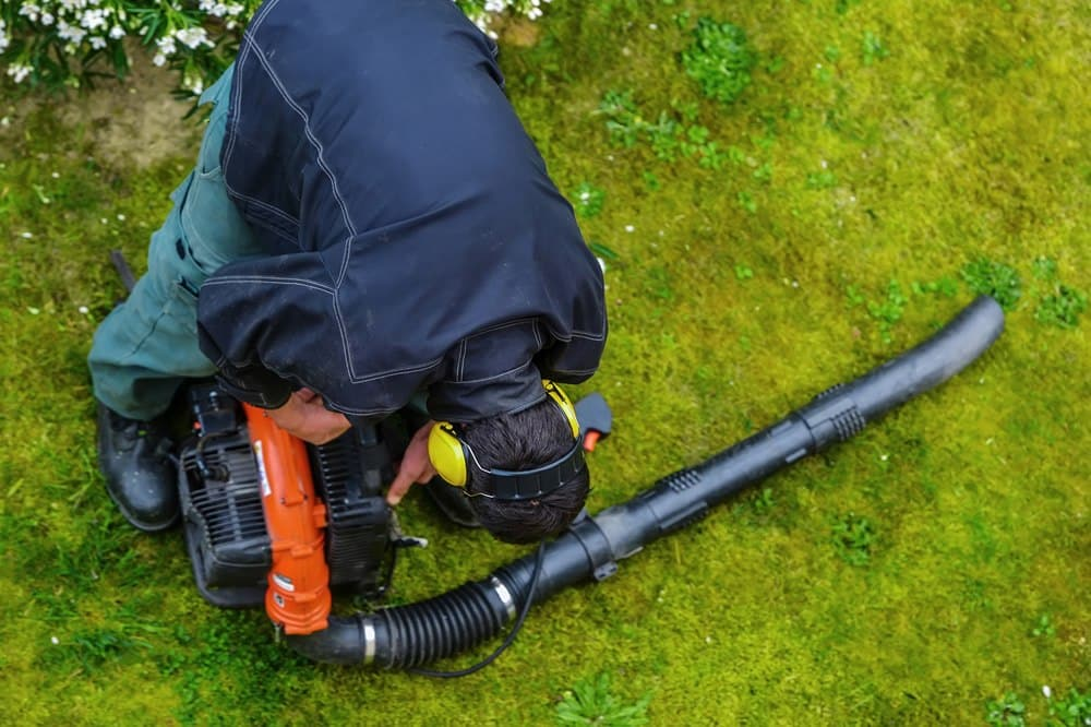 how to fix a leaf blower