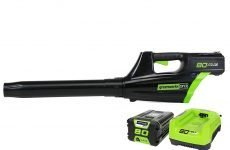 Greenworks Pro Cordless Blower: The Most Powerful Cordless Blower?