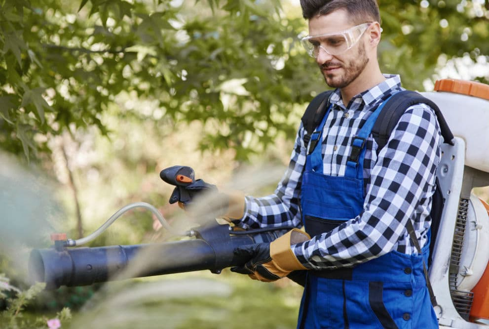 Using the Best Safety Glasses When Operating a Leaf Blower