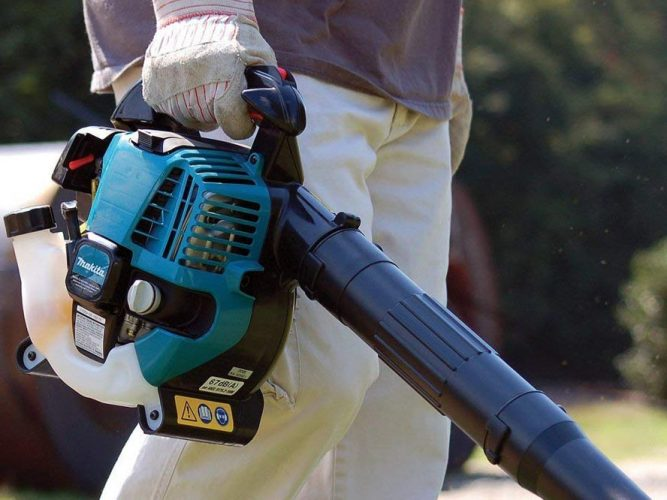 Makita 4 cycle leaf blower review