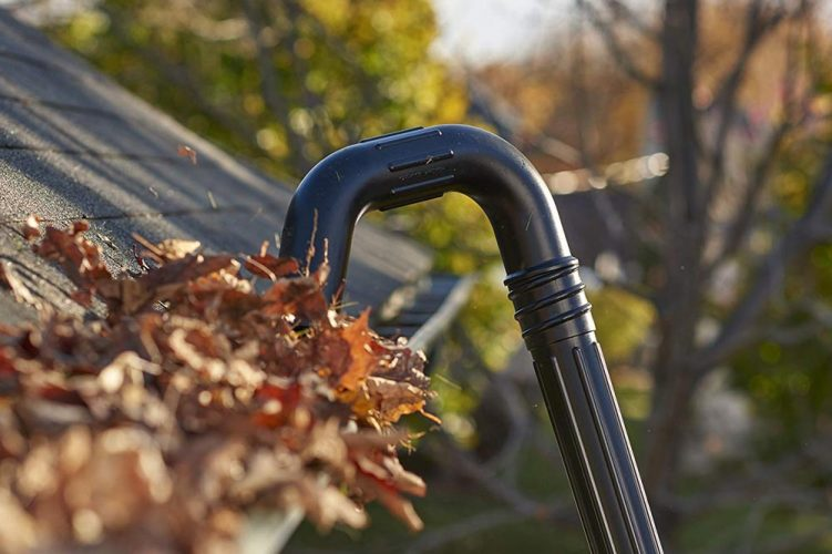 Leaf blower gutter attachment kits for top blower brands