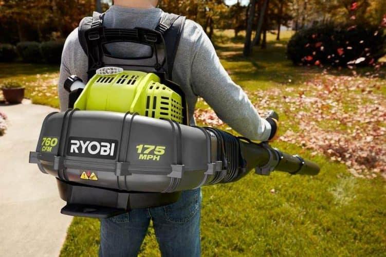Ryobi Gas Leaf Blower Review backpack model